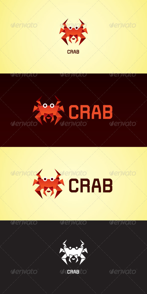 Crab Stock Logo Template