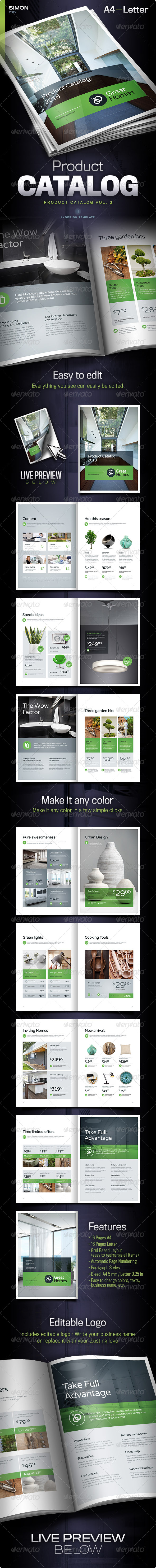GraphicRiver Product Catalog Vol 2 7066026