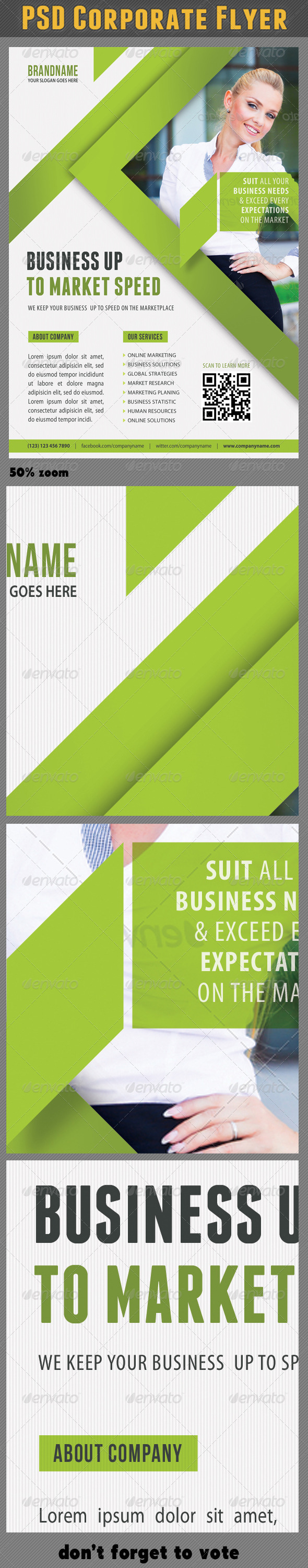 GraphicRiver Corporate Product Flyer 66 7066346