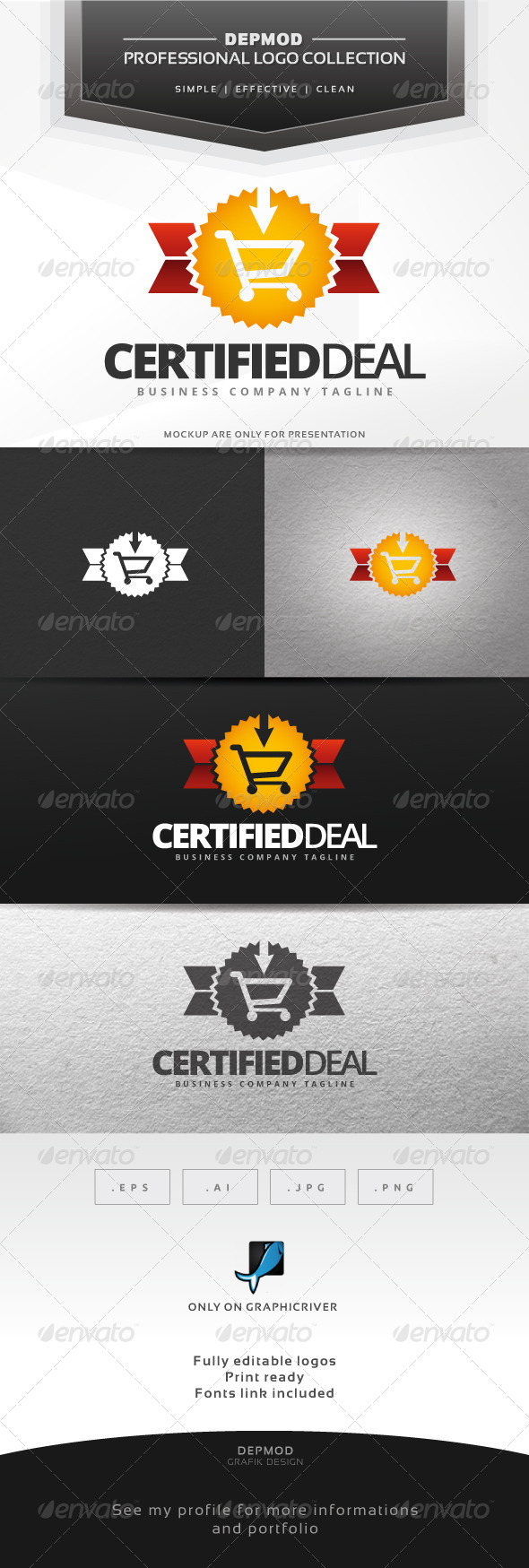 GraphicRiver Certified Deal Logo 7066392