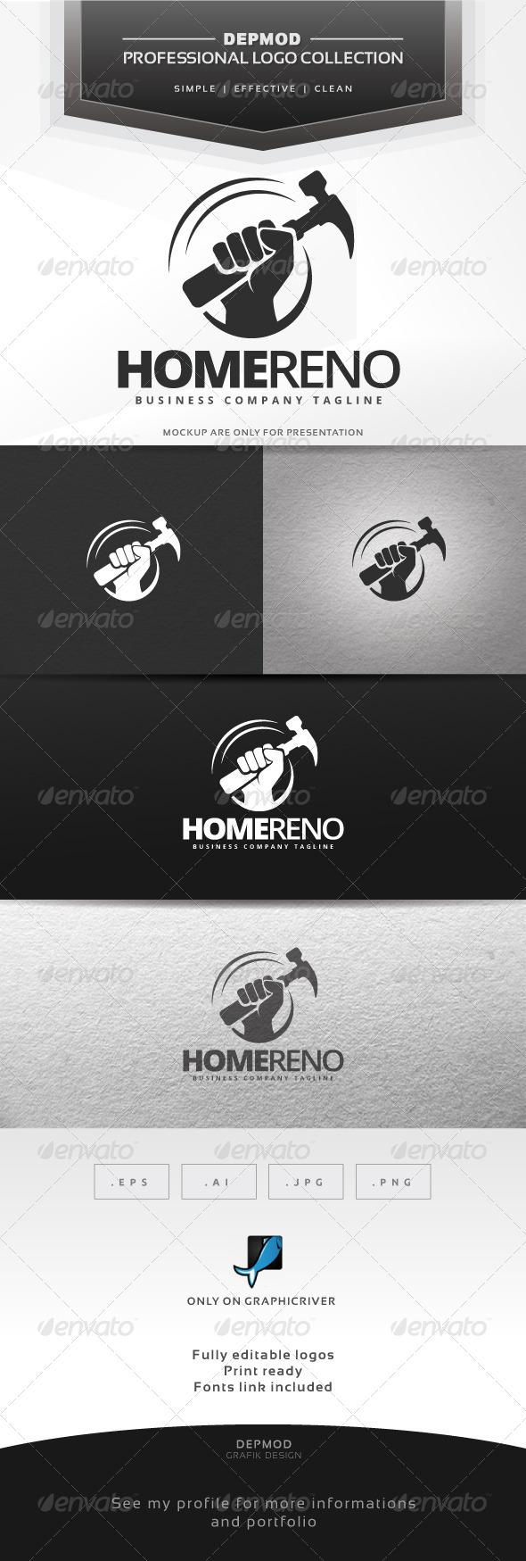 GraphicRiver Home Reno Logo 7066660