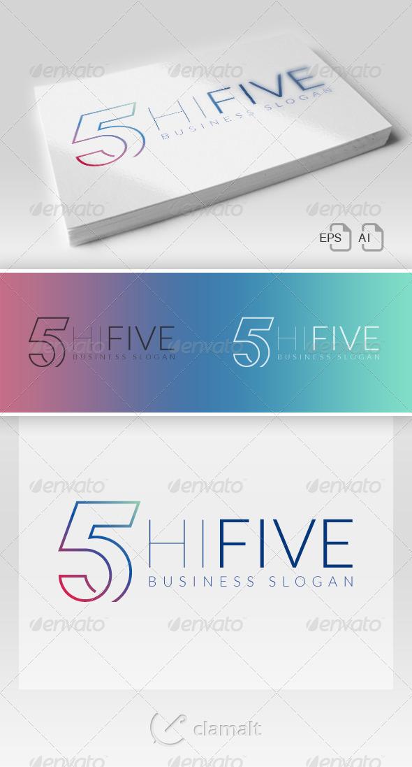 GraphicRiver Hi Five Logo 7067207