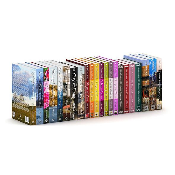 3DOcean Novel Books 1 7067219