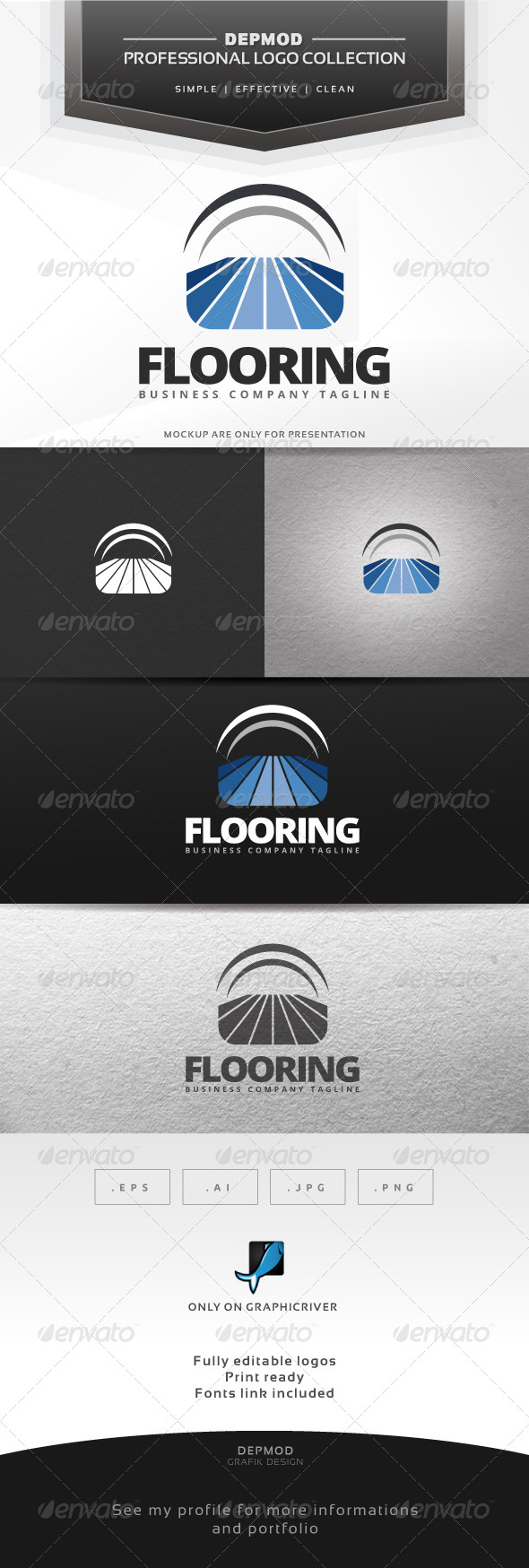 GraphicRiver Flooring Logo 7067644