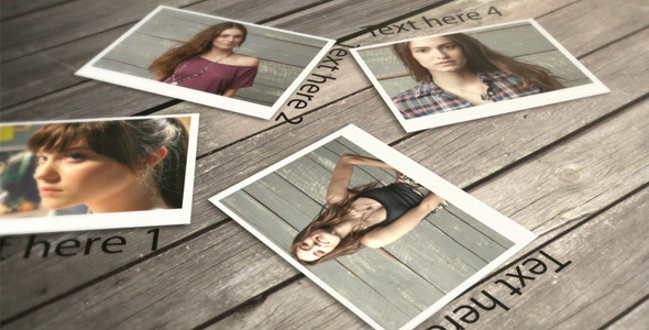 VideoHive After Effects Project - Falling Photos 721130
