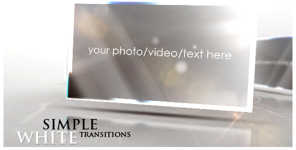After Effects Project - VideoHive Simple White Transitions 708673