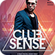 Club Sense Flyer - GraphicRiver Item for Sale