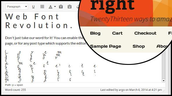 CodeCanyon Web Font Revolution 7067926