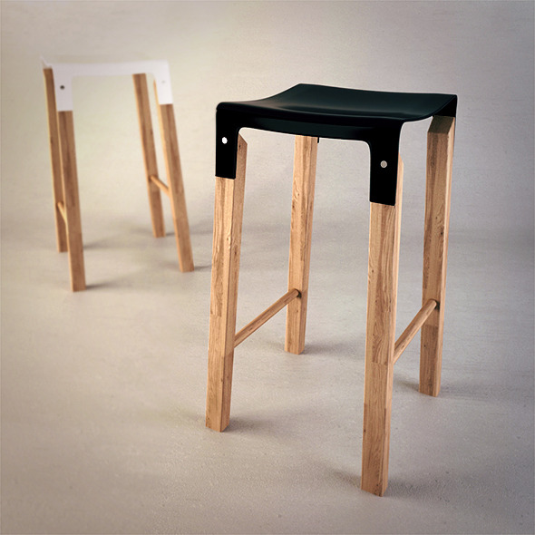 Composite Stool - 3DOcean Item for Sale
