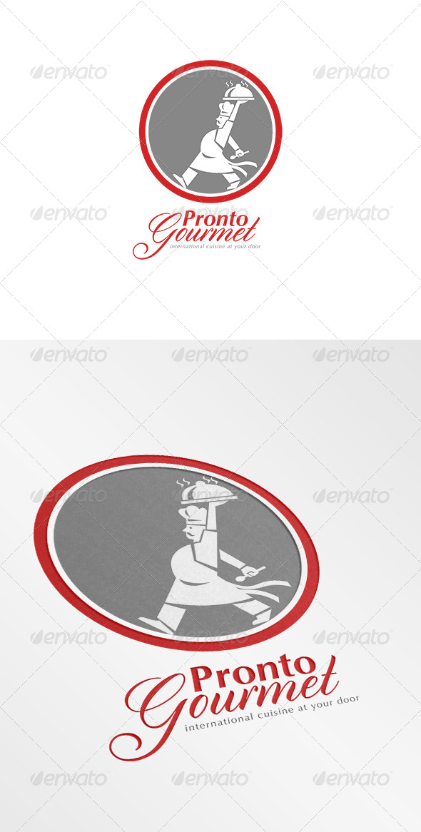 GraphicRiver Pronto Gourmet Retro Logo 7067993