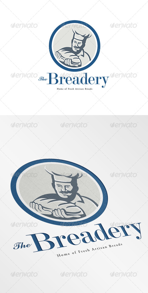 GraphicRiver The Breadery Fresh Artisan Breads Logo 7068005