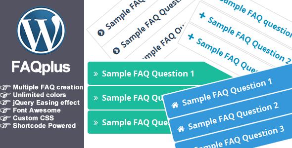CodeCanyon FAQPlus WordPress FAQ Plugin 7068037