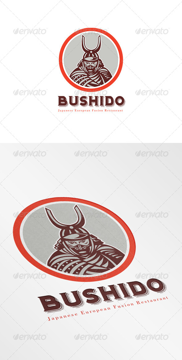 GraphicRiver Bushido Japanese Restaurant Logo 7068144
