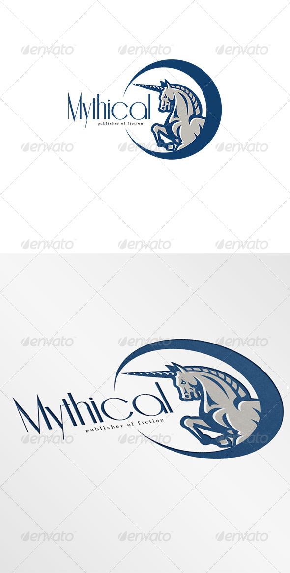GraphicRiver Unicorn Mythical Publishers Logo 7068165