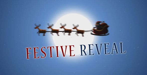 After Effects Project - VideoHive Festive Reveal 702507