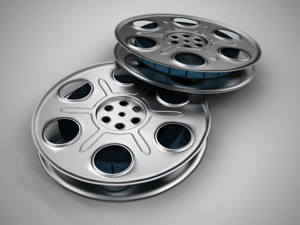 Realistic Film Reel - 3DOcean Item for Sale