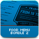 Food Menu Bundle 2 - GraphicRiver Item for Sale