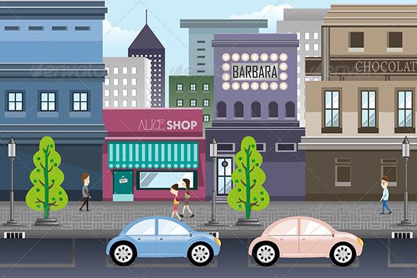 GraphicRiver City Life 7068832
