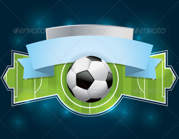 GraphicRiver Soccer Football Badge and Banner 7069134