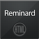 Reminard xHTML Theme - ThemeForest Item for Sale