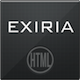 Exiria xHTML/CSS Portfolio and Business Theme - ThemeForest Item for Sale