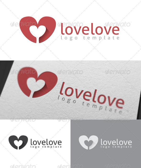 Lovelove Logo Template