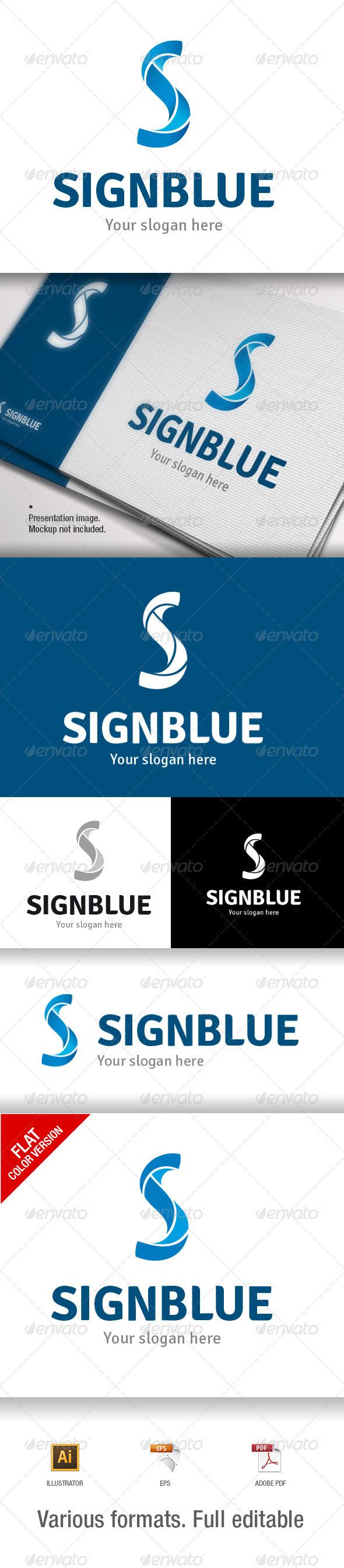 GraphicRiver S Letter Logo Template 7069975