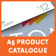 A5 Product Catalogue - GraphicRiver Item for Sale