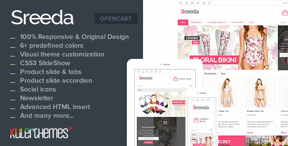 Sreeda - Bring summer to the beach! - OpenCart eCommerce