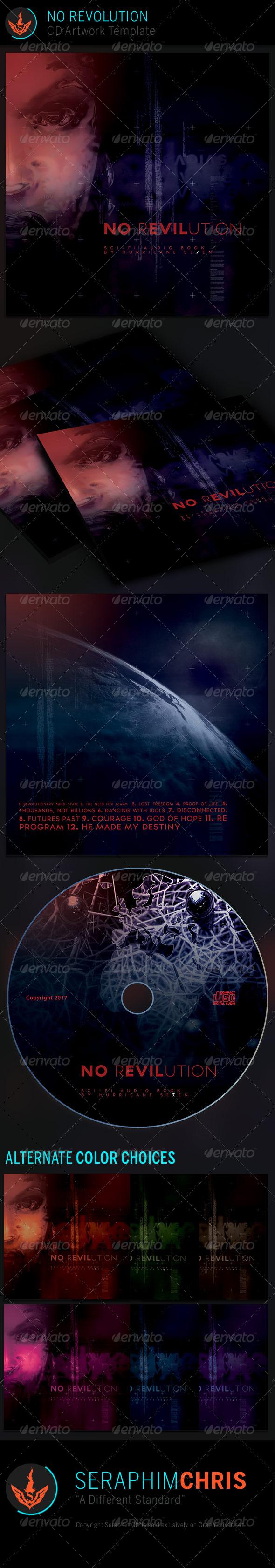 GraphicRiver No Revolution CD Artwork Template 7070248
