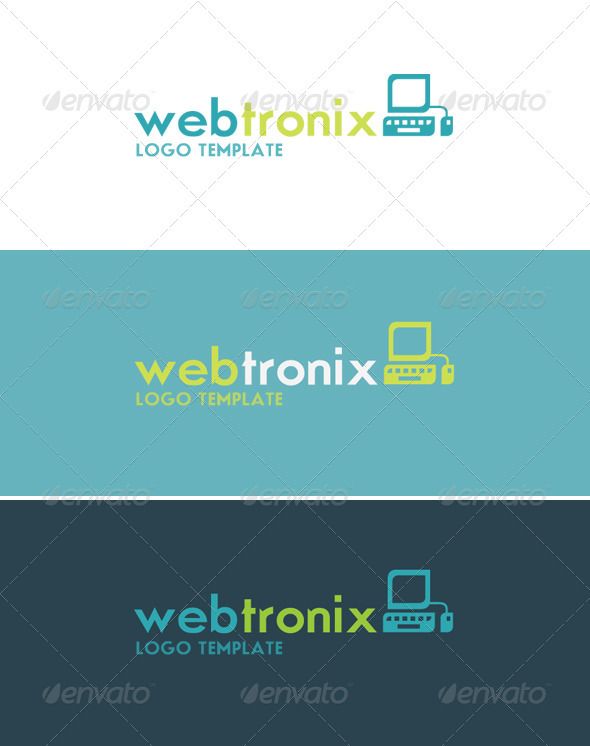 Webtronix Logo - Objects Logo Templates