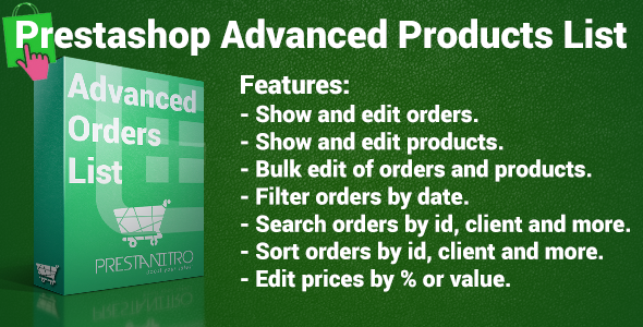 CodeCanyon Advanced Orders List 7070634