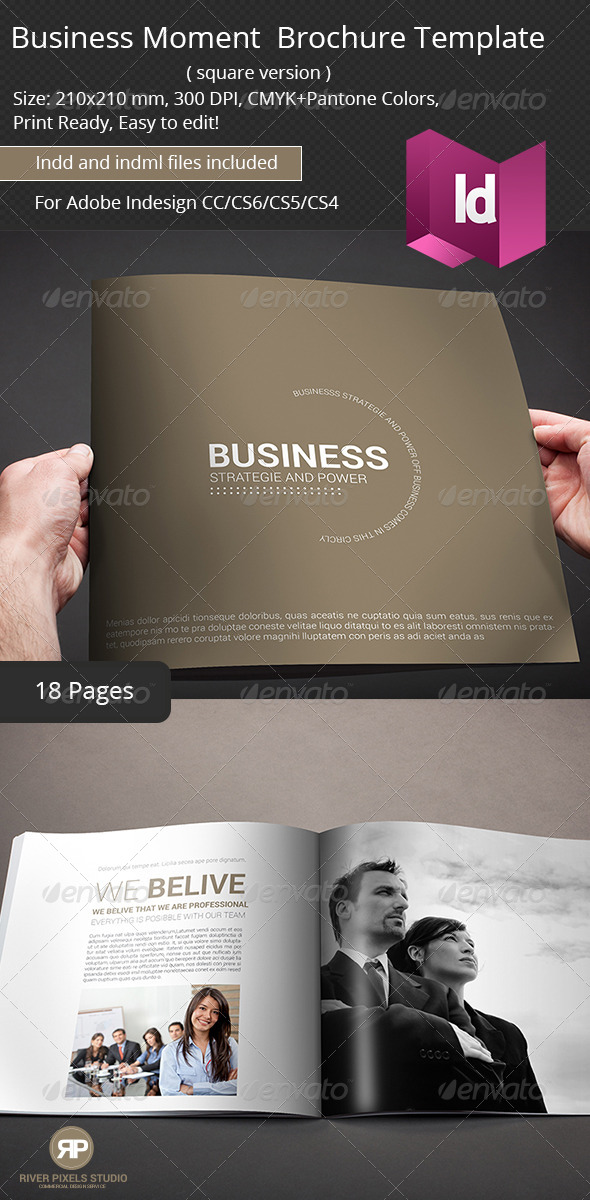 GraphicRiver Business Moment Brochure Template 7071561