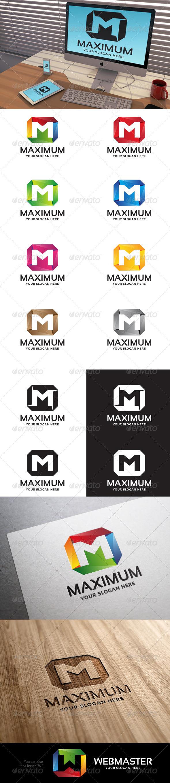 GraphicRiver Maximum Letter M Logo Template 7073814