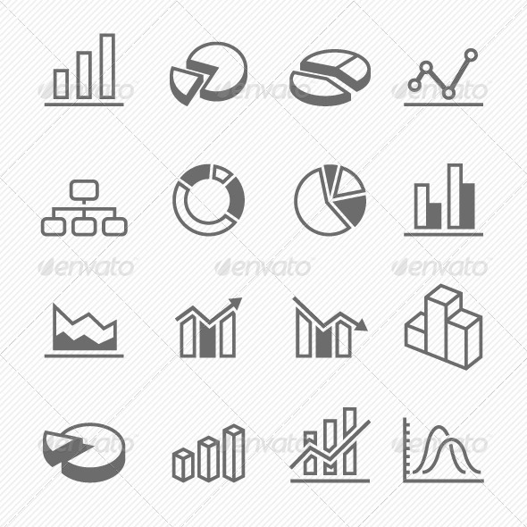 GraphicRiver Graph Icons 7073818