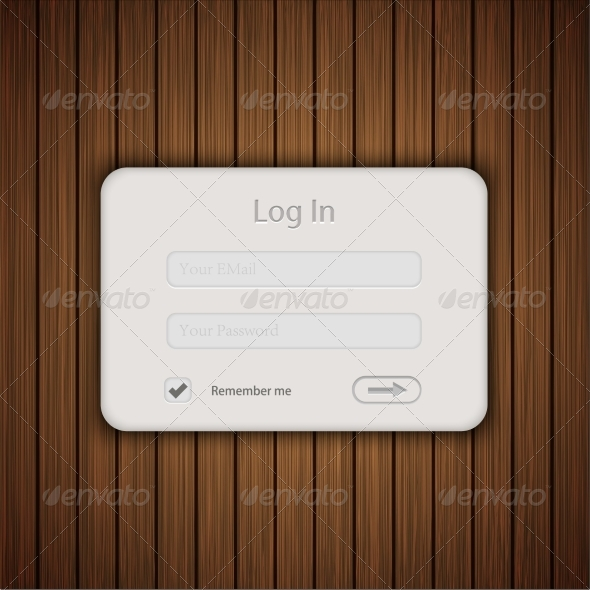 GraphicRiver Wood Login Background 7074777