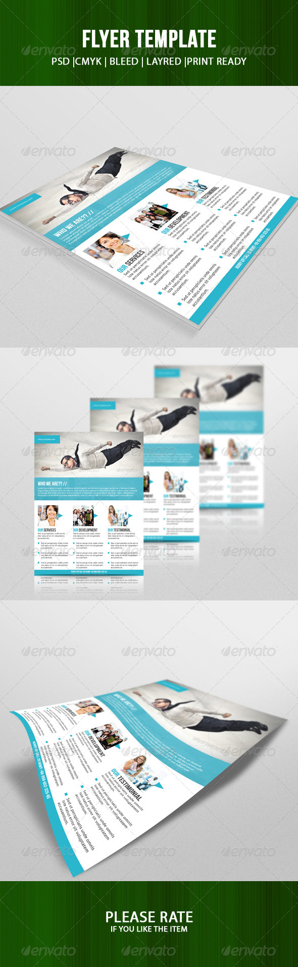 GraphicRiver Business Flyer Template 7053795
