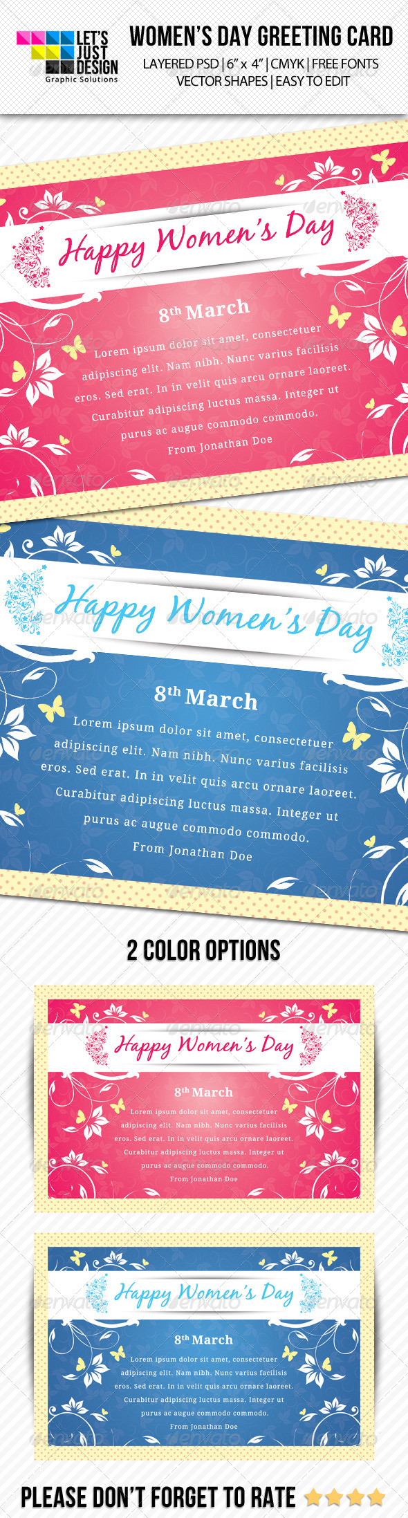 GraphicRiver Women s Day Greeting Card 7059660