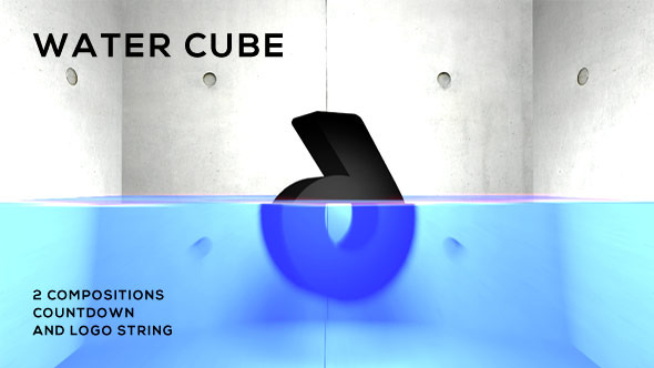Water Cube Countdown Logo-String