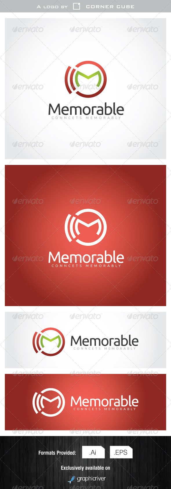 GraphicRiver Memorable Logo 7077674