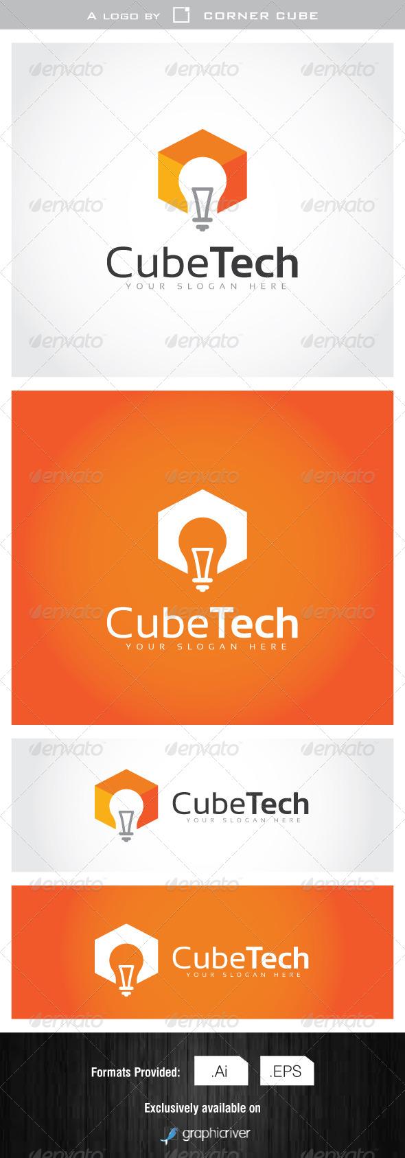 GraphicRiver Cube Idea Logo 7077684