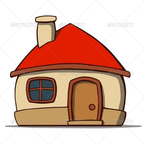 GraphicRiver Cartoon House 7077686