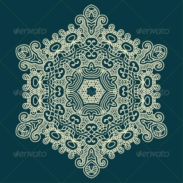 GraphicRiver Design Snowflake 7078006