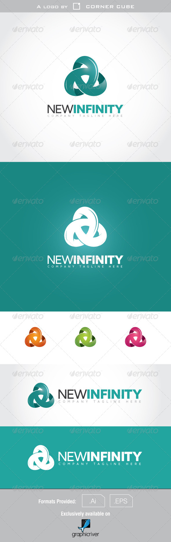 GraphicRiver New Infinity Logo 7078759