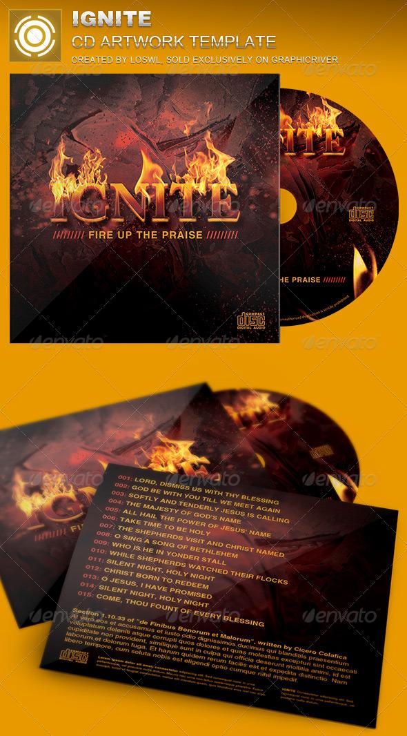 GraphicRiver Ignite CD Artwork Template 7078824