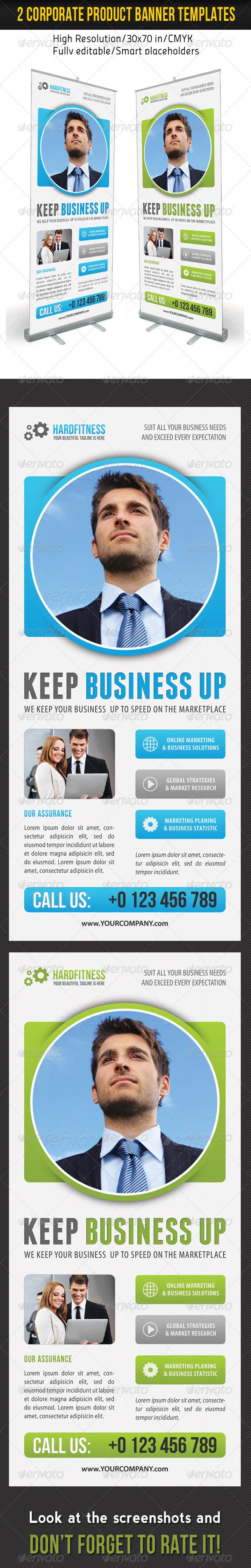 GraphicRiver Corporate Multipurpose Banner Template 46 7078849