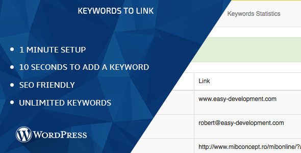 WP - Keywords To Link - CodeCanyon Item for Sale
