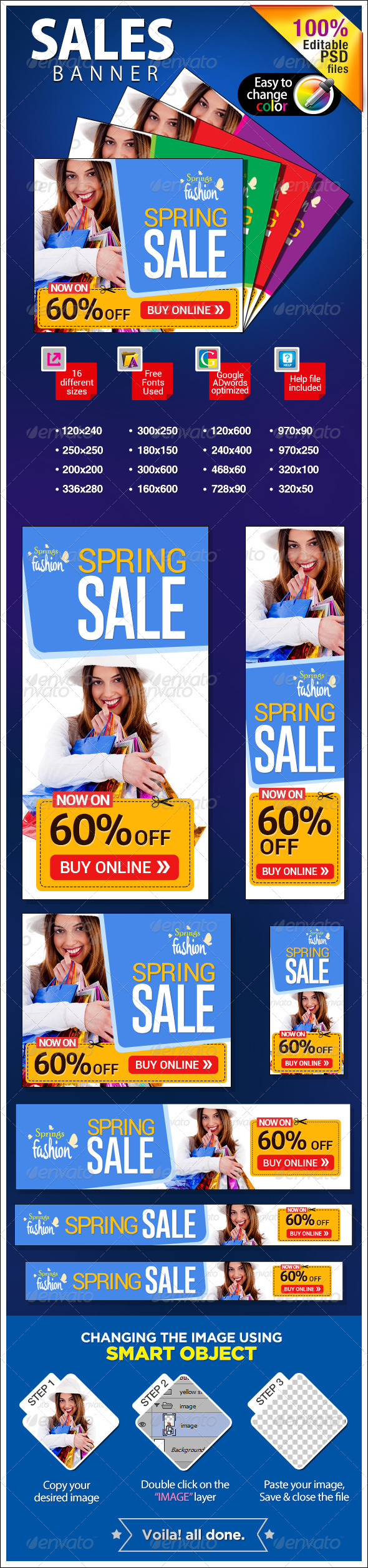 GraphicRiver Spring Sale Banners 7079039