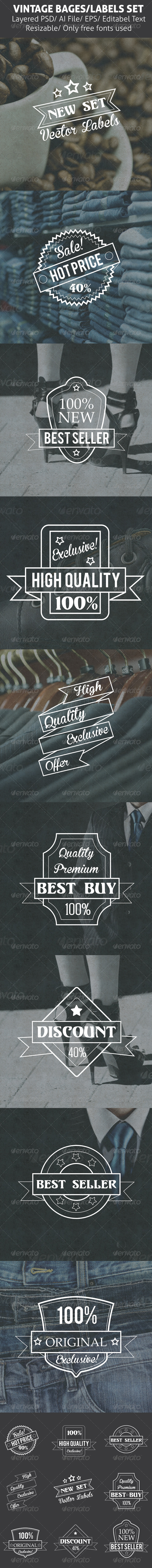 GraphicRiver Badges and Labels 7032674