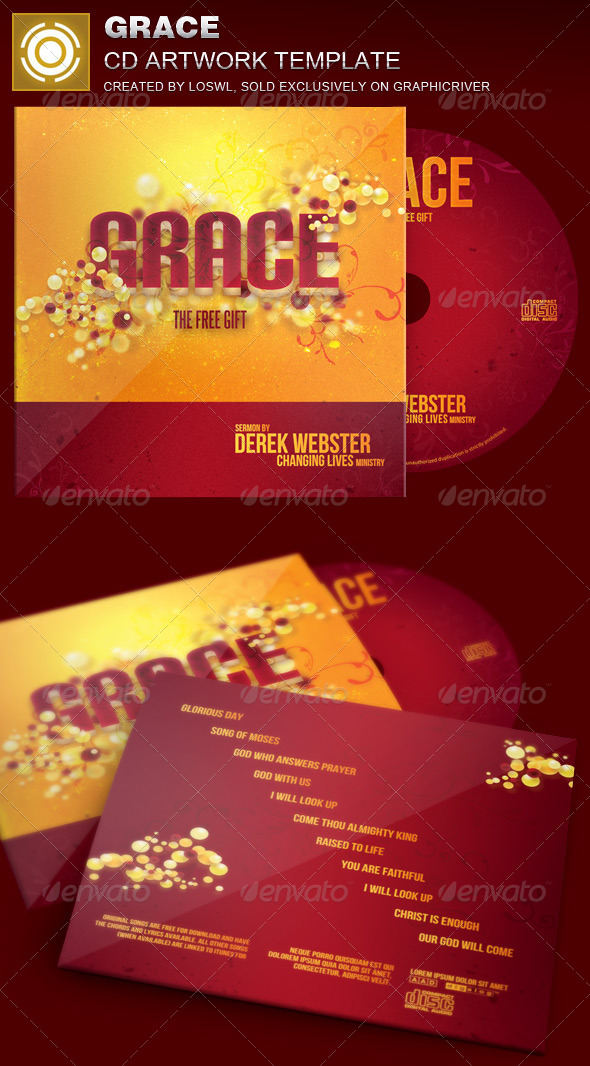 GraphicRiver Grace CD Artwork Template 7079382